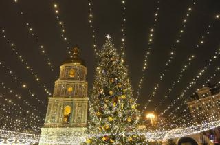 Украина впервые официально празднует католическое Рождество