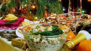 Новогодний стол в Украине за год подорожал в два раза