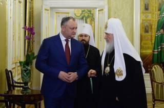 Более 98% граждан Молдовы - православные, - президент Игорь Додон