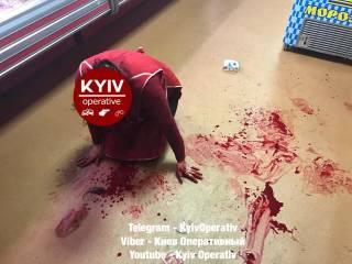 В Киеве произошло кровавое нападение на продуктовый магазин