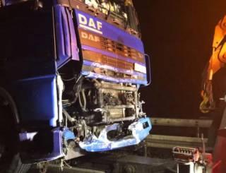 Пьяный украинец на фуре протаранил полицейский автомобиль в Германии