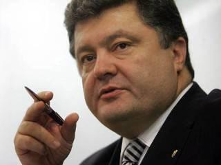 Новогоднее поздравление президентa Украины