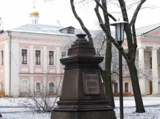 В Чернигове найдены похищенные в конце года памятники Коцюбинскому и Пушкину