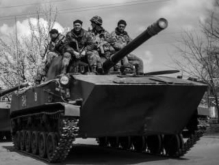 Украинский арсенал: 120-мм самоходная пушка-миномёт 2С9 Нона-С