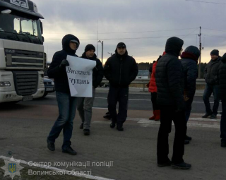 Из-за Налогового кодекса на границе с Польшей заблокировали сразу три дороги