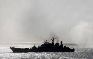 В Эгейском море сухогруз протаранил российский десантный корабль