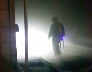 В Киеве вспыхнул подземный паркинг. Сгорело авто активиста по делу Ноздровской