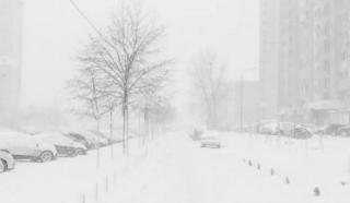 В Украину идут настоящие зимние морозы