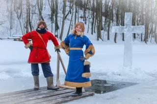 С 19 по 21 января в Парке Киевская Русь можно будет окунуться в воды освященного лесного озера