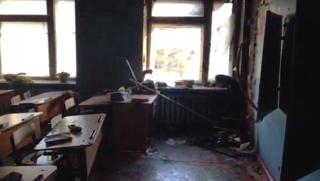 В одной из школ Бурятии подросток напал с топором на детей и устроил пожар