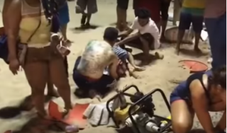В Рио-де-Жанейро автомобиль врезался в толпу пешеходов
