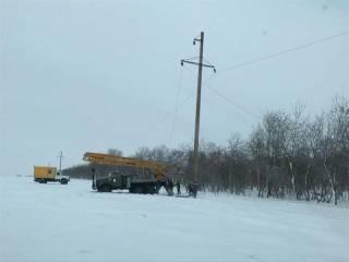 На пути у восстановления электроснабжения в Одесской области оказались местные жители