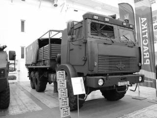 Украинский арсенал: армейский грузовик «Богдан-6317»