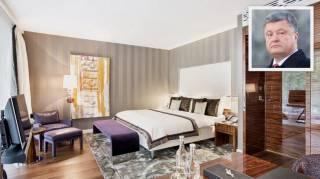 Журналисты показали шикарные апартаменты, в которых расположился Порошенко с семьей в Швейцарии