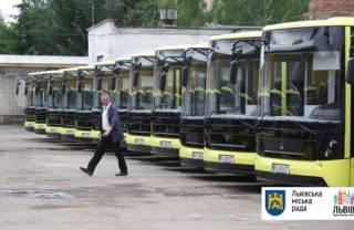 Минюст арестовал все коммунальные автобусы Львова в угоду россиянину из «Миротворца»