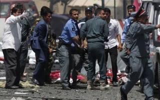 В Кабуле совершен очередной теракт. На улицах лежит много человеческих тел