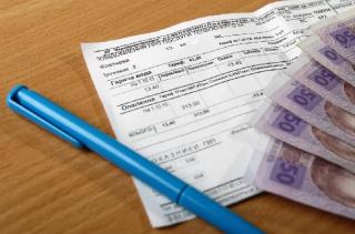 Украинцы стремительно накапливают долги за коммуналку