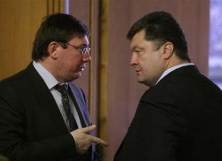 Порошенко и Луценко «прощупывают будущий маршрут бегства»?