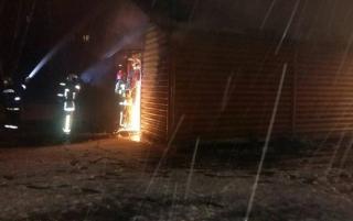 Во Львове загорелась церковь УПЦ МП