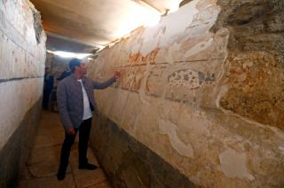 В Египте обнаружили уникальную гробницу
