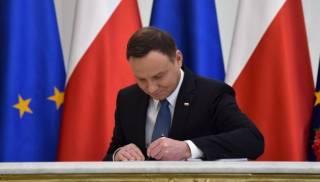 Дуда таки подписал «антибандеровский» закон