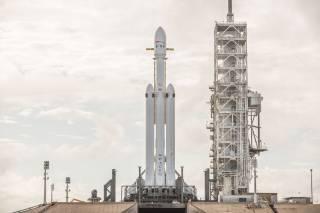 Прямая трансляция исторического запуска ракеты, которая должна доставить человечество на Марс