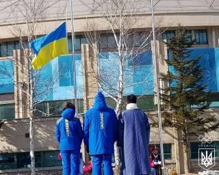 В Пхенчхане состоялось торжественное поднятие флага Украины. Нашим спортсменам пророчат рекорд