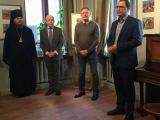 В Киеве открыли уникальную выставку «Живописный Афон в украинских красках»