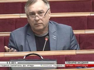 Депутату из «Оппоблока» выключили микрофон из-за выступления на русском языке