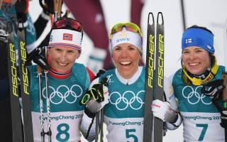 Первые награды зимних Олимпийских игр получили скандинавы