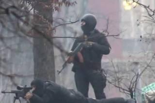 Грузинский снайпер назвал имена украинских депутатов, которые якобы лично расстреливали активистов Евромайдана
