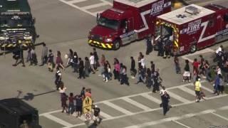 В США подросток открыл стрельбу в средней школе. Много погибших и раненых