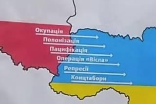 «И быстро скрылись»: радикалы напомнили Польше о ее преступлениях против Украины, но ненадолго