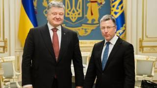 В Мюнхене Порошенко обсудил с Волкером миротворцев на Донбассе, которые могут снять с России санкционную петлю