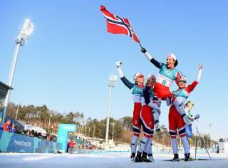 Сборная Норвегии победила в общем медальном зачете на Олимпиаде-2018