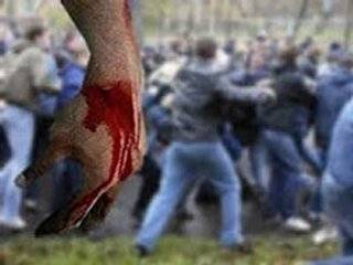 В Запорожье криминальный авторитет избил десантника, только вернувшегося из зоны АТО