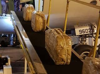 Самолет, предназначенный для первых лиц РФ, заподозрили в перевозке большой партии кокаина