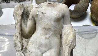 В Греции строители метро откопали Афродиту