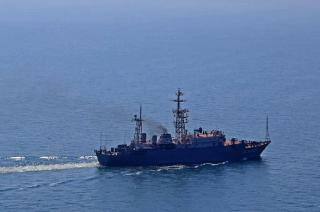 В портах Крыма зафиксировали 20 российских кораблей-нарушителей