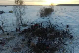 Опубликованы переговоры летчиков Ан-148 за несколько секунд до столкновения с землей в Подмосковье