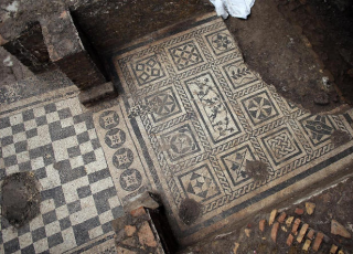 В Риме строители метро откопали виллу II века