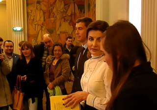 Жена Порошенко не смогла прочесть «Заповит» Шевченко. Соцсети в шоке