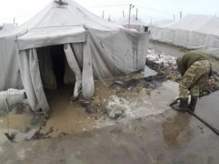 В результате пожара на «Широком лане» погиб военнослужащий. Еще семеро получили ожоги