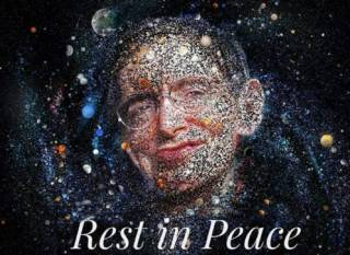 #Темадня: Соцсети и знаменитости отреагировали на смерть Стивена Хокинга