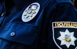 На Троещине взорвали полицейский автомобиль