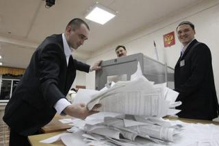 Процент проголосовавших за Путина неожиданно обрел апокалиптические формы. ВВП празднует победу