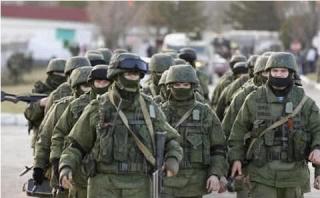 В аннексированном Крыму очередные военные учения