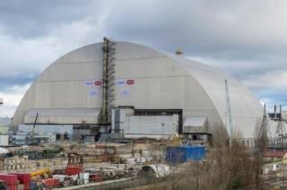 Рабочие Чернобыльской АЭС взобрались на саркофаг ради спасения собаки