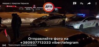 В Харькове пьяный водитель устроил гонки с полицией, посадив в машину ребенка