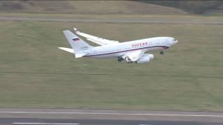 Россия вывезла своих дипломатов из Лондона на самолете, который засветился в скандале с контрабандой кокаина